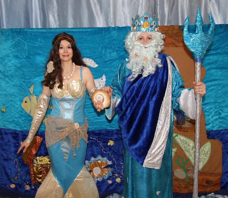 Костюмы морского царя своими руками