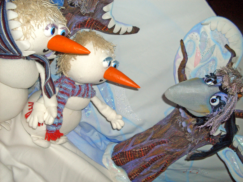 Картинки по запросу Снеговики и солнышко